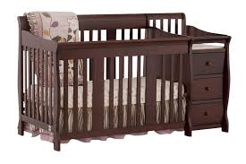 Convertible Cribs With Changing Table Fingerhut Kimball 4 In 1 Convertible Crib And