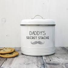 personalised biscuit stache tin by jonny s sister
