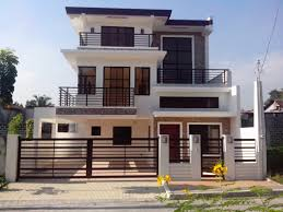 modern home design narrow lot 2 story house plans for narrow lots philippines luxury architectures