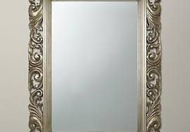 Ornate Bathroom Mirror Design Ornate Wall Mirrors With Silver Mirror Large
