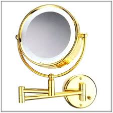 wall mounted magnifying mirror with light magnifying bathroom mirror with light wall mounted lighted makeup