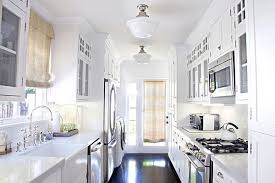 white galley kitchen ideas beautiful style of galley small kitchens styles that elegance