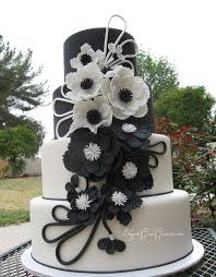 black and white wedding cakes white wedding cakes picmia