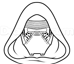 draw kylo ren easy step 6 art class
