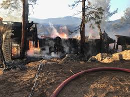 Fires In Denver by Home Destroyed By Early Morning Fire In Bailey Fox31 Denver