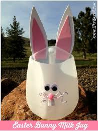 Halloween Milk Carton Crafts by Easter Bunny Milk Jug Craft Milk Jugs Easter Crafts And Easter