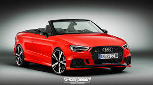 2017 audi rs3 cabriolet would be really heavy and expensive