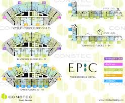 Building Site Plan Epic Miami Floor Plans