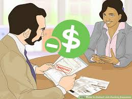 how to deduct job hunting expenses 13 steps with pictures