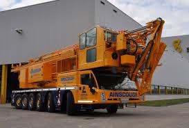 ainscough adds to mobile tower crane fleet ainscough crane hire ltd