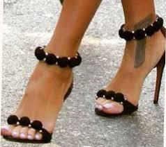 designer schuhe luxus pumps gr 38 schwarz damen schuhe high heels sandaletten