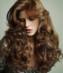 light mahogany brown hair color with what hairstyle long curly hairstyles with light mahogany brown hair color for