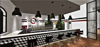 pizza restaurant design dawen huang interior design