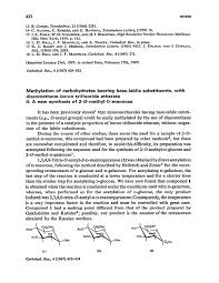 methylation of carbohydrates bearing base labile substituents