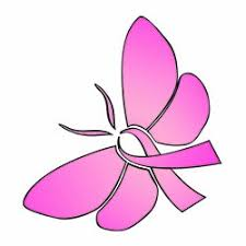 amazon com breast cancer butterfly ribbon temporary 10