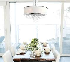 Dining Room Drum Light Drum Light With Crystals Drum Shade Pendant Light With Crystals