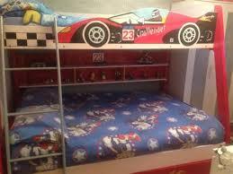 Race Car Bunk Beds Car Bunk Beds Intersafe