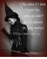 Flying Monkeys Meme - oy knowit s been good day when you didn t have to unleash the