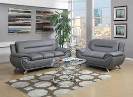 Amazing Gray Leather Living Room Furniture - Gray living room sets
