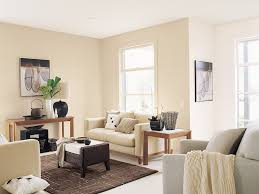 neutral and natural is the best way to describe this living area