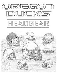 oregon ducks coloring pages funycoloring