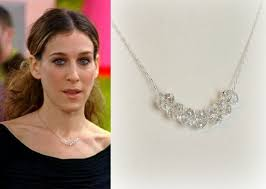 carrie necklace gold 54 carrie diamond necklace and the city carrie bradshaw