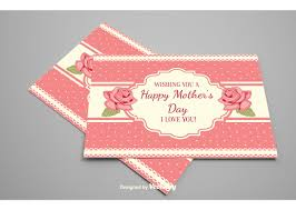mother s day card designs decorative mother u0027s day floral card vector download