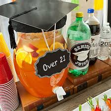 the party ideas graduation 21 rum punch idea graduation mini tasting party