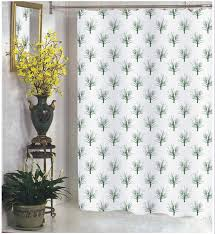 Cloth Shower Curtains Carnation Home Fashions Inc Extra Wide Fabric Shower Curtains