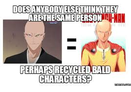 Memes Characters - dodesanybody elsethinkthey are the same person perhapsrecycled bald