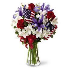 white and blue floral arrangements unity bouquet patriotic floral arrangements