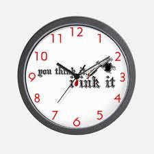 Tattoo Clocks Tattoo Wall Clocks Large Modern Kitchen Clocks - Modern designer wall clocks