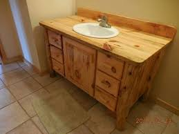 Pine Bathroom Vanity Cabinets by Hand Made Knotty Pine Bathroom Vanity By Harry U0027s Cabin Furniture