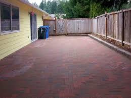 paver patio ajb landscaping u0026 fence