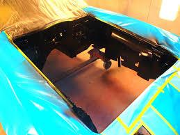 corvette engine blackout alignment shims z bar and interior paint