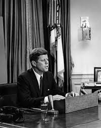 Jfk Ar7969 E President John F Kennedy Delivers Address Regarding