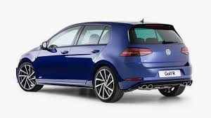 blue volkswagen golf r akrapovic titanium exhaust likely for australia in 2018