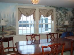 dining room with draperies unusual best valance gallery amazing