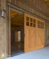 Exterior Sliding Door Hardware Single Sliding Barn Door For A Garage Door O U T D O O R S