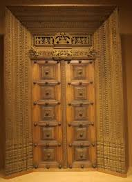 marvellous pooja room wooden door designs photos best