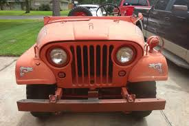 jeep cherokee fire 1953 willys jeep u0027fire truck u0027 has less than 4 000 original