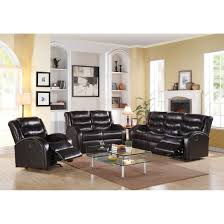 noah sofa motion in espresso bonded leather match 50830 acme