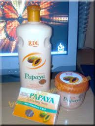 Sabun Rdl produk kecantikan rdl papaya brave new in me