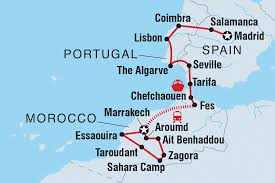 Spain And Portugal Map by Spain Portugal U0026 Morocco Morocco Tours Intrepid Travel Us