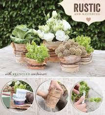 Diy Table Centerpieces For Weddings by Diy Tutorial Rustic U0026 Natural Wedding Centerpiece Idea