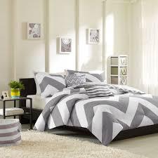 girls surf bedding grey white large chevron bedding teen twin xl full queen king