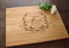 personalized cutting board personalized cutting board with crest design thecuttingboardshop