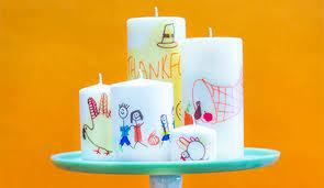 thanksgiving craft candle keepsake walmart