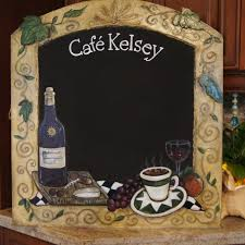 Custom Kitchen Accessories Chalk Boards For Kitchens Zamp Co