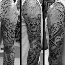 40 celtic sleeve tattoo designs for men manly ink ideas